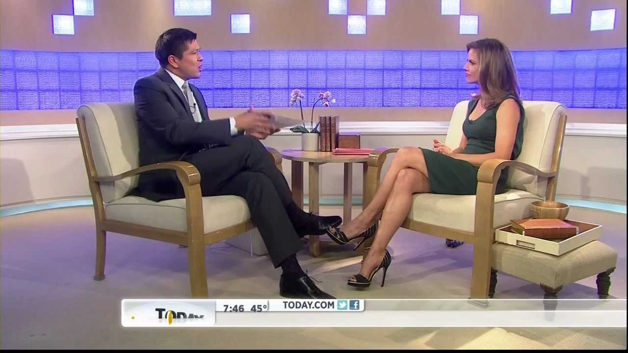 Natalie Morales  leggy and great heels  YouTube