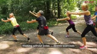 8 Pro X Walker UK with Heike Drechsler fitness walking - personal walking  trainer on the go