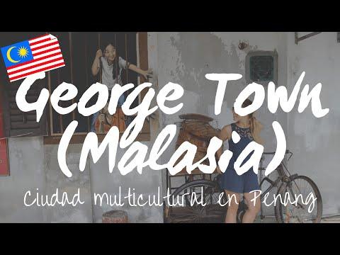 Templos y graffitis en George Town, la ciudad multicultural de Penang