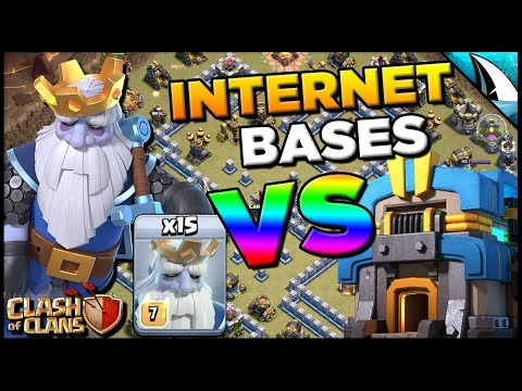 How To Use Royal Ghost Vs Internet Bases! Craziest Funneling Troop Ever!   Clash Of Clans