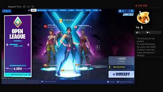 Im playing arena trios