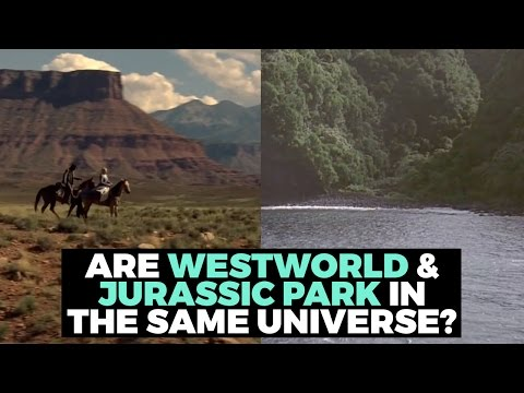 Download Youtube: Do Jurassic Park And Westworld Exist In The Same Universe?