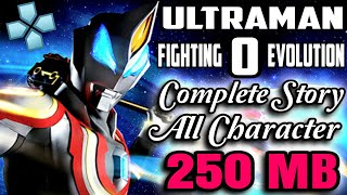 Download & Instal Ultraman Fighting Evolution 0 PPSSPP | All Character Unlocking Story mode