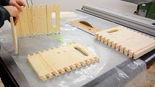 Schwalbenschwanz- Bierkiste bauen | Schwalbenschwanzzinkung | HolzWerken | DIY