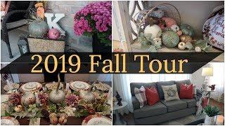 Fall Home Tour 2019/ Cozy, Modern Fall Home Tour