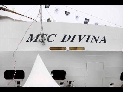 MSC Divina a tour around the ship
