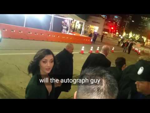 katie findlay signing autographs for  in hollywood