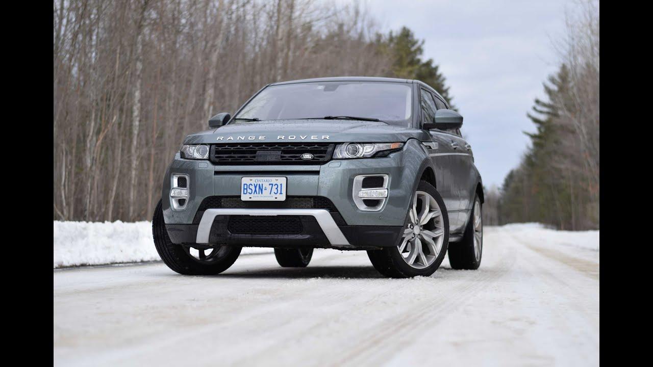 2015 Range Rover Evoque Autobiography Video Test Drive