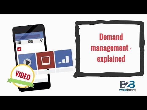 Demand management - explained
