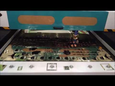 Glitter laser cutter for metal and non metal