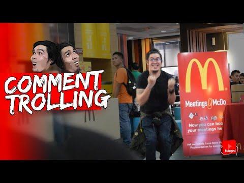Magsayaw Ng Jollibee Theme Song Sa Mcdo   Comment Trolling