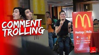 Magsayaw Ng Jollibee Theme Song Sa Mcdo | Comment Trolling