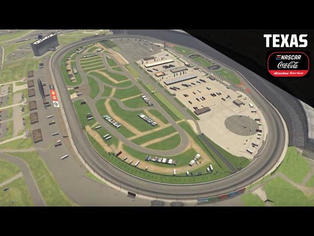 LIVE iRacing: eNASCAR Coca-Cola Series playoffs at Texas Motor Speedway