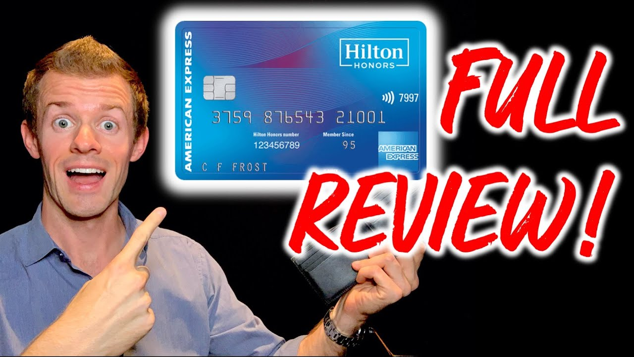 Download HILTON HONORS American Express Card Review! (No annual fee travel cards)