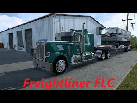American Truck Simulator  Freightliner FLC  