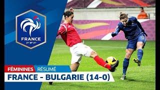 France-Bulgarie Féminine A (14-0) : les buts en 3 minutes