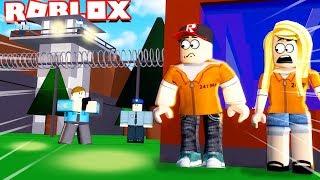 UCIEKAMY Z WIĘZIENIA W ROBLOX OBBY!!! (Roblox Prison Escape Obby) | Vito vs Bella