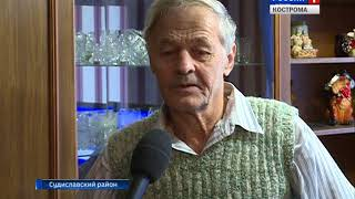 В многоквартирные дома посёлка Раслово Костромской области пришёл природный газ