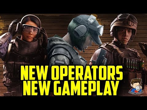 Rainbow Six Siege All New Operators Gameplay Ying Lesion Ela Operator Blood Orchid  Gadget Abilities