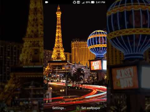 set the live wallpaper las vegas app as live wallpaper to decorate your phone. downloads free las vegas wallpaper from our store page. we have the best ...