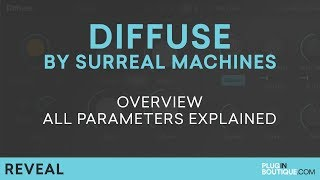 Surreal Machines Diffuse | Review of Parameters Tutorial