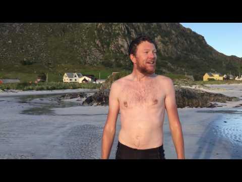 Bathing in the Norwegian Sea