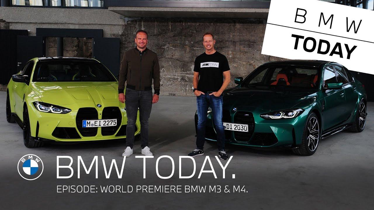 BMW Today – Episode 25: World premiere BMW M3 & M4