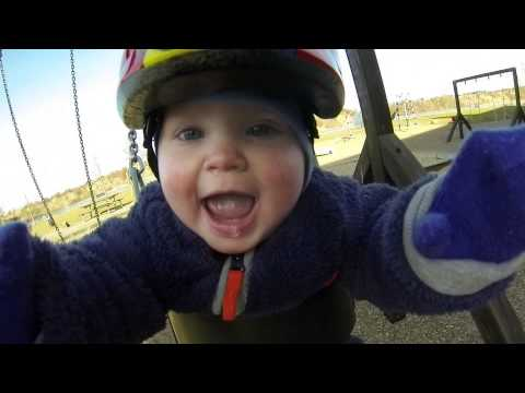 This GoPro Video Of A Baby On A Swing Is Precisely What Elation Looks Like