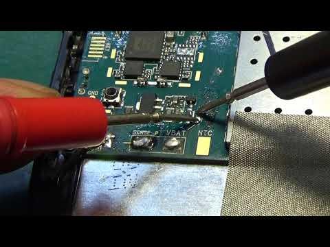 Планшет Supra M74CG. КЗ по VBat из-за микрухи SC2678H