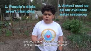 Eating Water, 2017 Sleek Geeks Science Eureka Prize Secondary Highly Commended