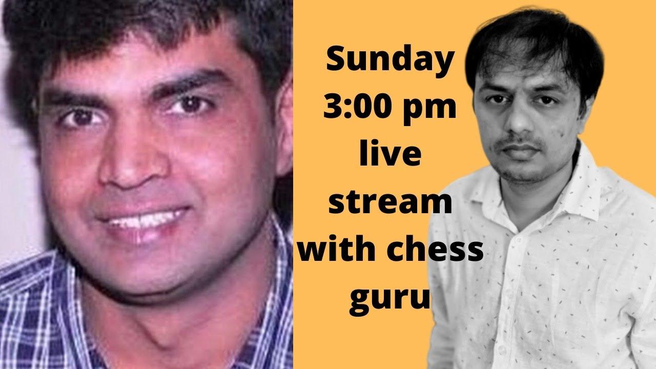 Hindi Chess Videos and Chess Guru Live stream