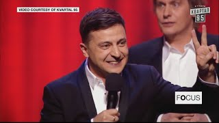 No joke: Comedian Zelenskiy leads race to Ukrainian presidency