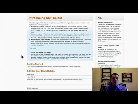 How to Publish a Book on Amazon Kindle – Ebook Publishing School 2.0 Video 2 – (2016 Update)