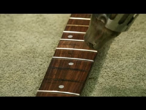 how to remove guitar inlays guitar building repair youtube. Black Bedroom Furniture Sets. Home Design Ideas