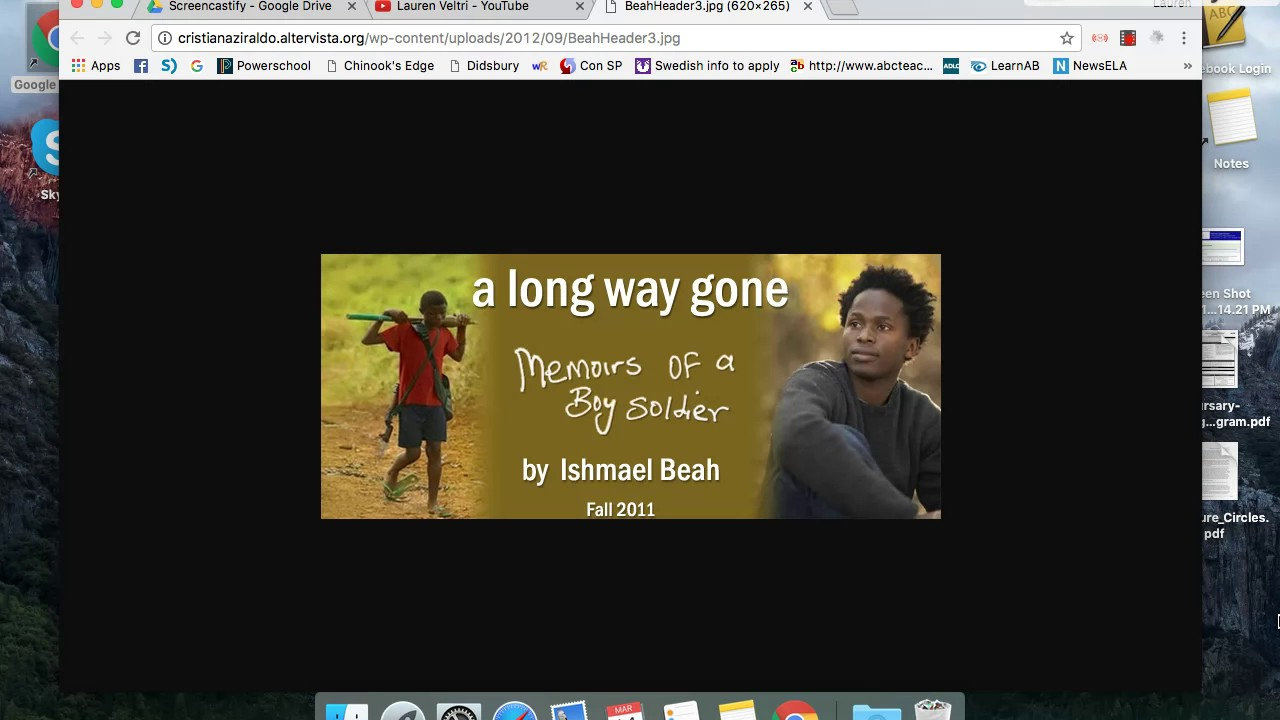 Long Way Gone Pdf