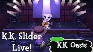 K.K. Slider Live!| K.K. Oasis