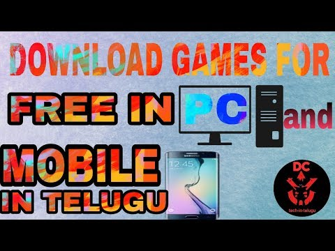 how-to-download-games-for-free-in-pc-and-mobile-in-telugu-2018