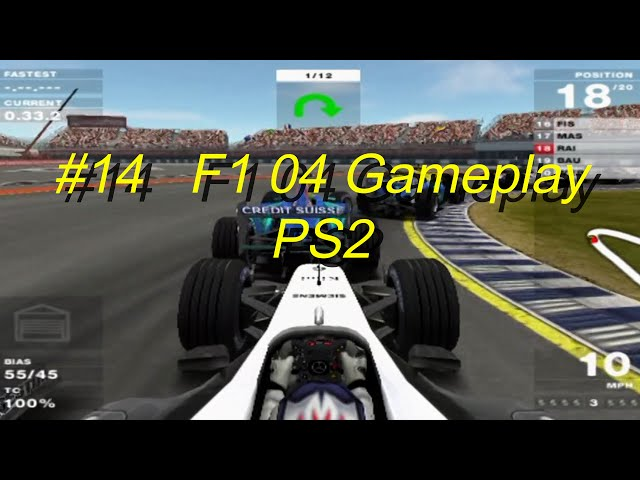 F1 04 Gameplay PS2