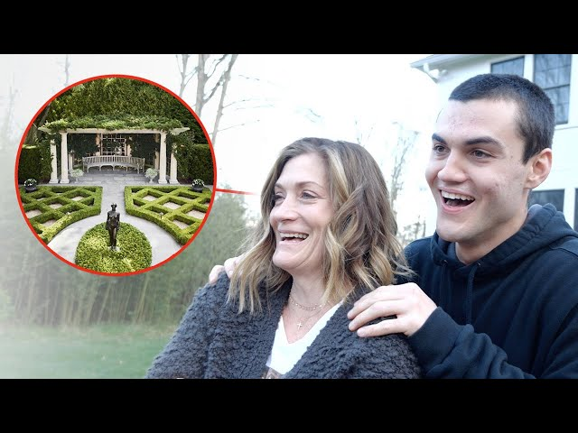 Surprising Our Mom With EPIC BACKYARD MAKEOVER