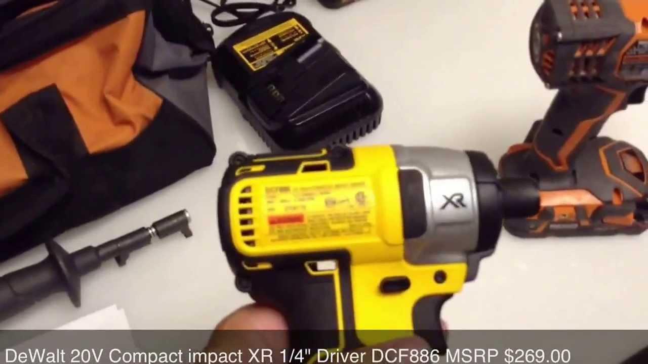 Dewalt Brushless Vs Ridgid Compact Lithium Drill Driver Comparison