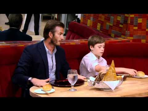 David Beckham - Hell\'s Kitchen S10E11 - YouTube
