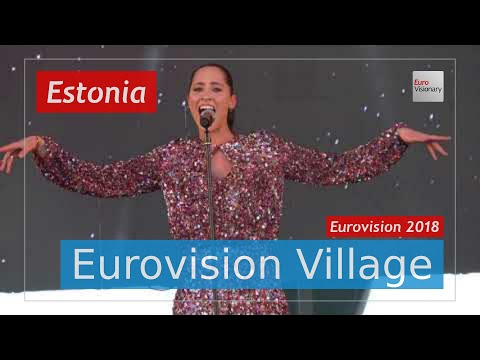 Elina Nechayeva (Estonia) - La Forza (Special Edition LIVE @ Eurovision Village) Eurovision 2018