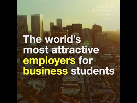 The world's most attractive employers for business students