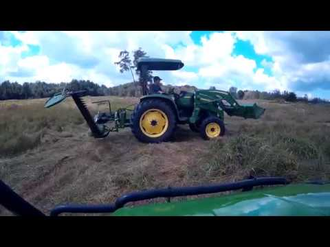 Mowing Hay With The Frontier Mower