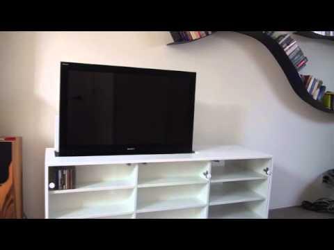 Tv Lift Kast : Tv lift kast youtube