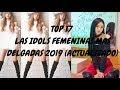 LAS IDOLS FEMENINAS MAS DELGADAS 2019 (actualizado) PARTE 2