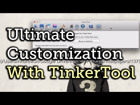 Customize the Look & Feel of Mac OS X with TinkerTool [How-To]