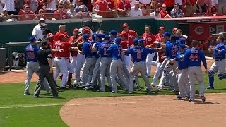 Tempers flare after Chapman K's Schierholtz