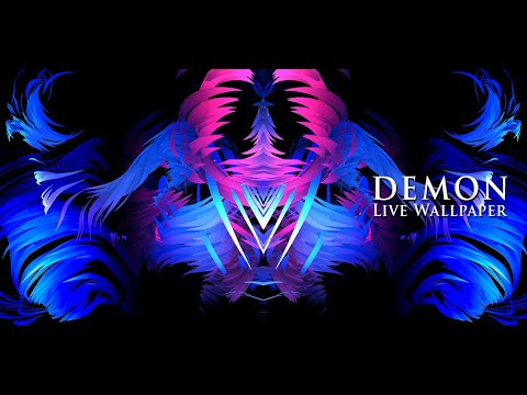 DEMOS is a Live Wallpaper. Take a look and open your mind. What you see? DEMON is in each of us. Go to the settings and turn on the SYMETRY DEMON option.