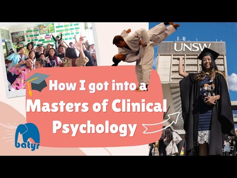 How I Got Into a Masters of Clinical Psychology! | Interview Tips & Tricks, Volunteering, Marks